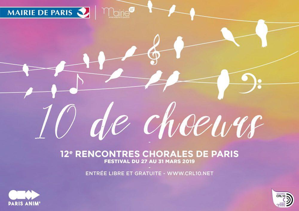 Festival 10 de Chœurs 2019 - 1